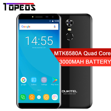 "Oukitel C8 5,5 ""HD 18:9 Unendlichkeit Display Android 7.0 2 GB RAM 16 GB ROM MTK6580A Quad Core Fingerabdruck 13MP 3000 mAh Handy"