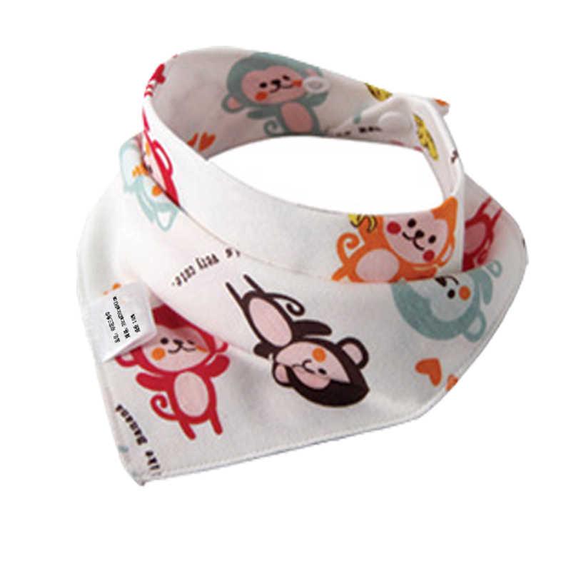 مريلة أطفال من LANMUSUNG على شكل مثلث من القطن مُزينة برسوم كارتونية للأطفال وشاح للأطفال وشاح باندانا مرايل للأطفال الرضع من Bebes babador