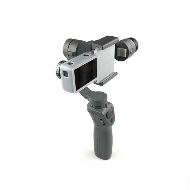 Action Camera Adapter Bracket Mount for DJI OSMO Mobile 3 2 Gimbal Accessories