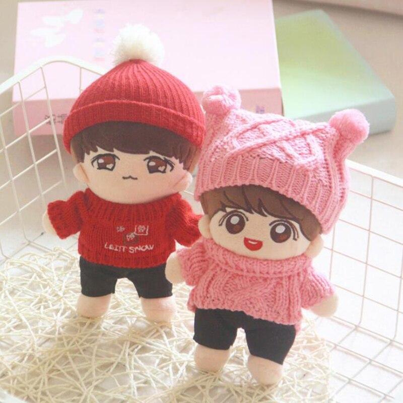 22cm Kpop Doll Plush Toy Bangtan Boys Doll Stuffed Toy Vapp Pillow  Boys Soft Doll Toy  Christmas Gift