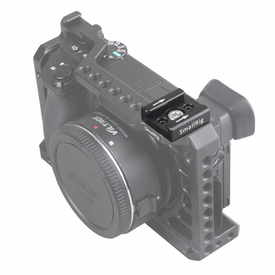 Smallrig Dingin Sepatu Standar Adaptor TYPE 1/4 dan M2.5 Lubang Sekrup Kamera Aksesoris-1241