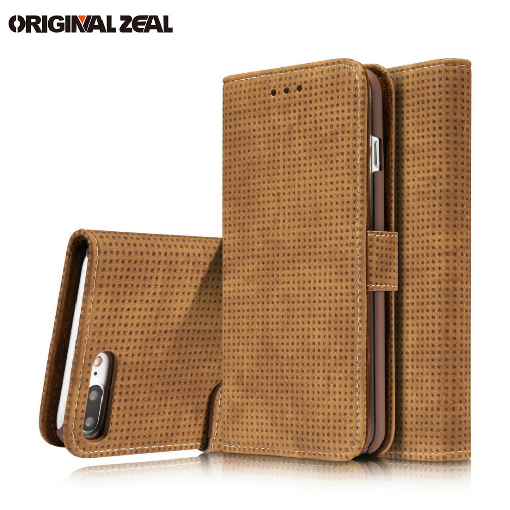 INIZEAL Book Wallet Case for iPhone 7Plus 7 8 6 plus Card Holder Flip Leather Cover for S8 s8PLUS s7edge for Sony XZ x compact