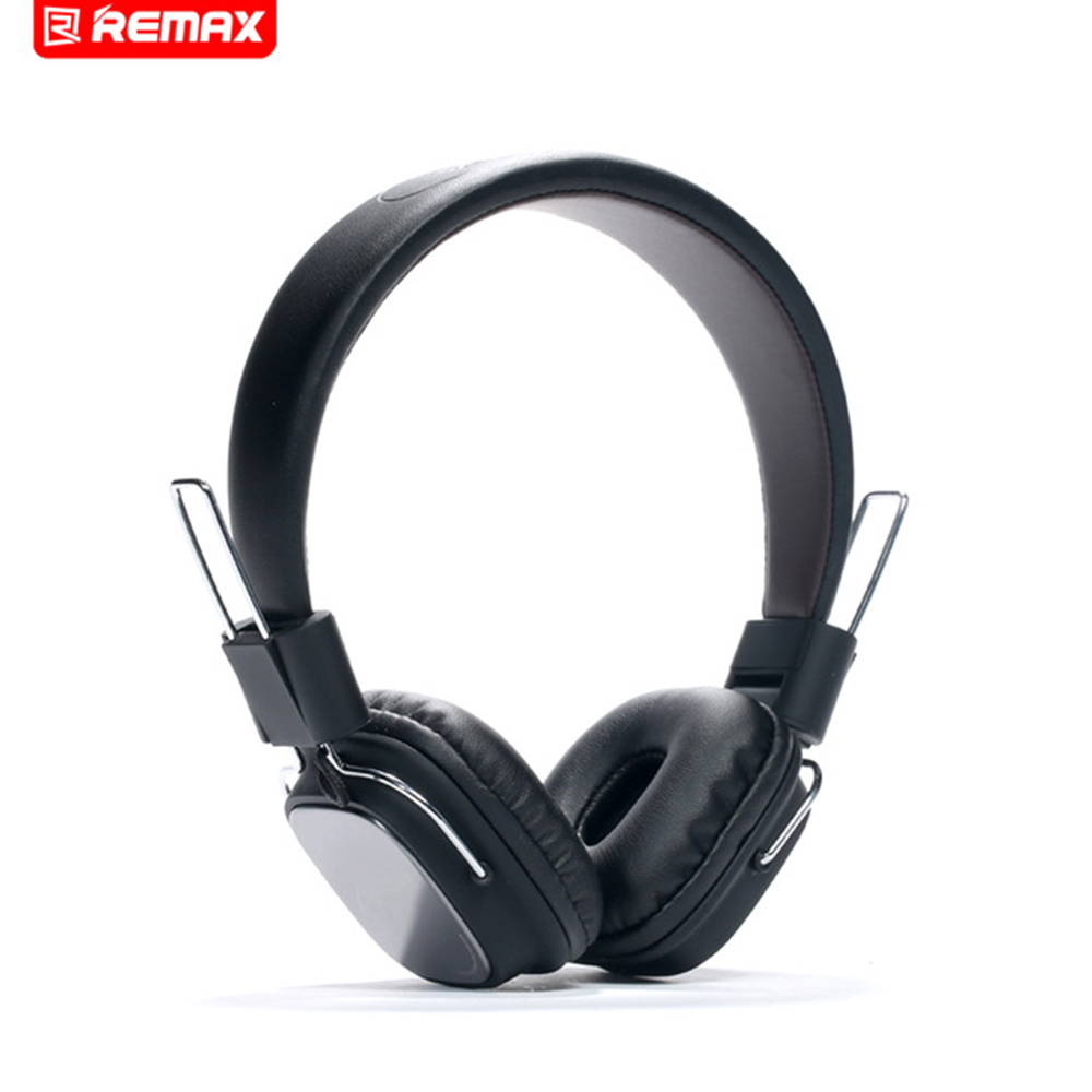 Original Remax 100H Stereo Headphones soft ear pads headset with Mic Micphone HIFI sound for iphone mobile Phone MP3 MP4 PC