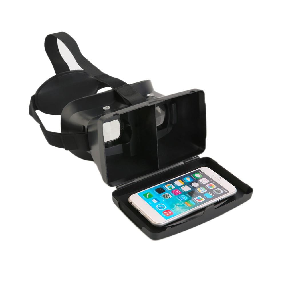 Новое поступление высокое качество VR 3D виртуальной реальности Очки головная повязка для 3.5 ~ 6 дюймов смартфон телефоны 3D просмотра Очки гру...