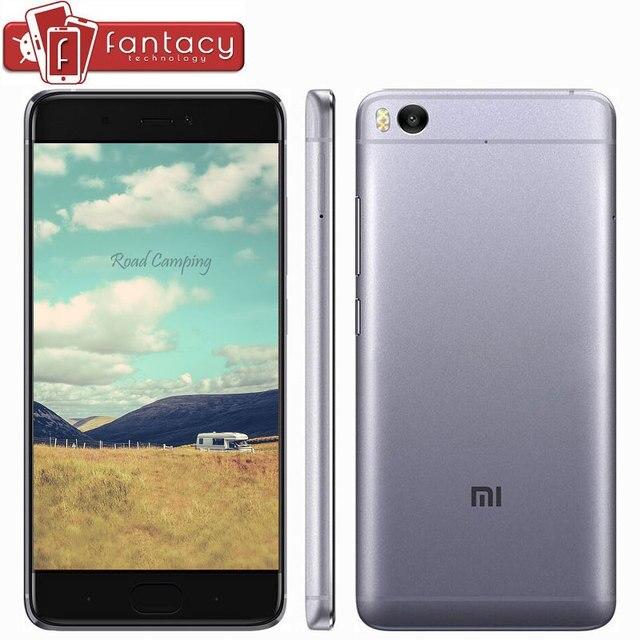 "Оригинал Xiaomi Mi Mi5s 5S 3 ГБ RAM 64 ГБ Мобильного Телефона Snapdragon 821 Quad Core Отпечатков Пальцев ID FDD ROM 12MP 5.15 ""1080 P NFC MIUI 8"