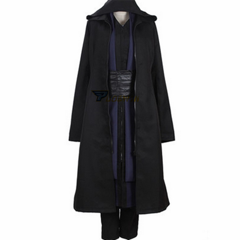 Star Wars Cosplay Costumes Jedi Knights Anakin Costumes Set Anakin Jedi Clothing with gloves