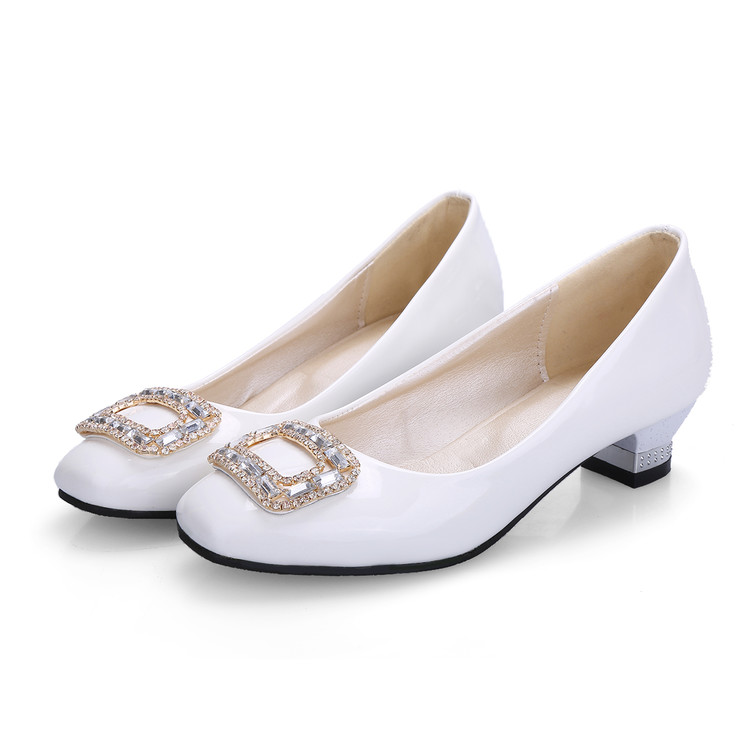 Big Size 34-48 Shoes Woman 2017 New Arrival Wedding Ladies High Heel Shoes Fashion Sweet Dress Pointed Toe Women Pumps A1-1 baoyafang new arrival peep toe pearl women wedding shoes high heel fashion shoes woman platform shoes 12cm female big size shoes