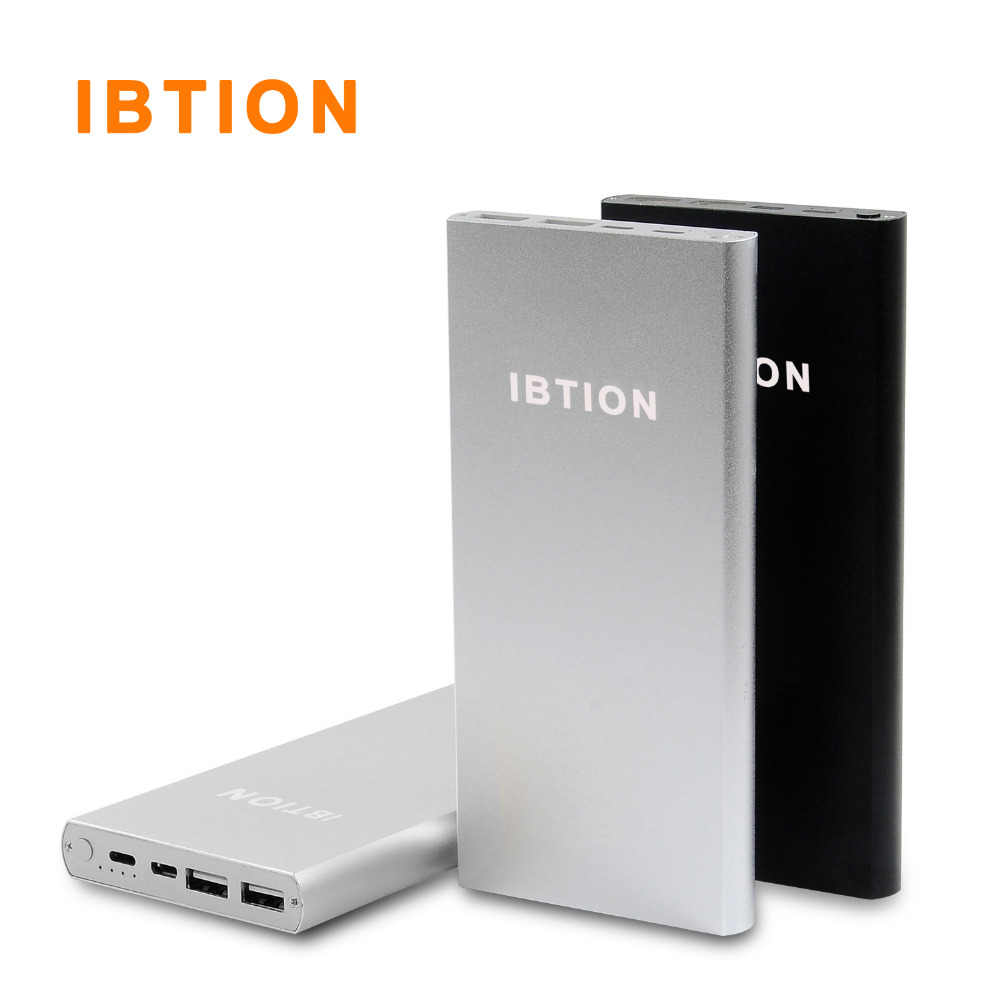 bilder für Original IBTION 10200 mAh Extrernal Energienbank Notfall-ladegerät für iPhone 6 S 6 S Plus 7 Plus und Android-handys Tabltes