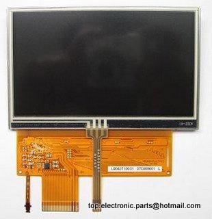 4.3 ''для garmin nuvi 205 Вт 260 Вт 255 Вт жк-экран с сенсорным экраном дигитайзер