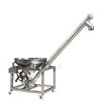 CapsulCN Height All Fill Sanitary Inclined Portable Screw Conveyor Powder Feeder HZSL B
