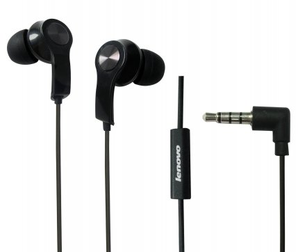 e258d163f9a Lenovo Headset P180 (Black) 3.5mm Half in Ear Headphone with Microphone