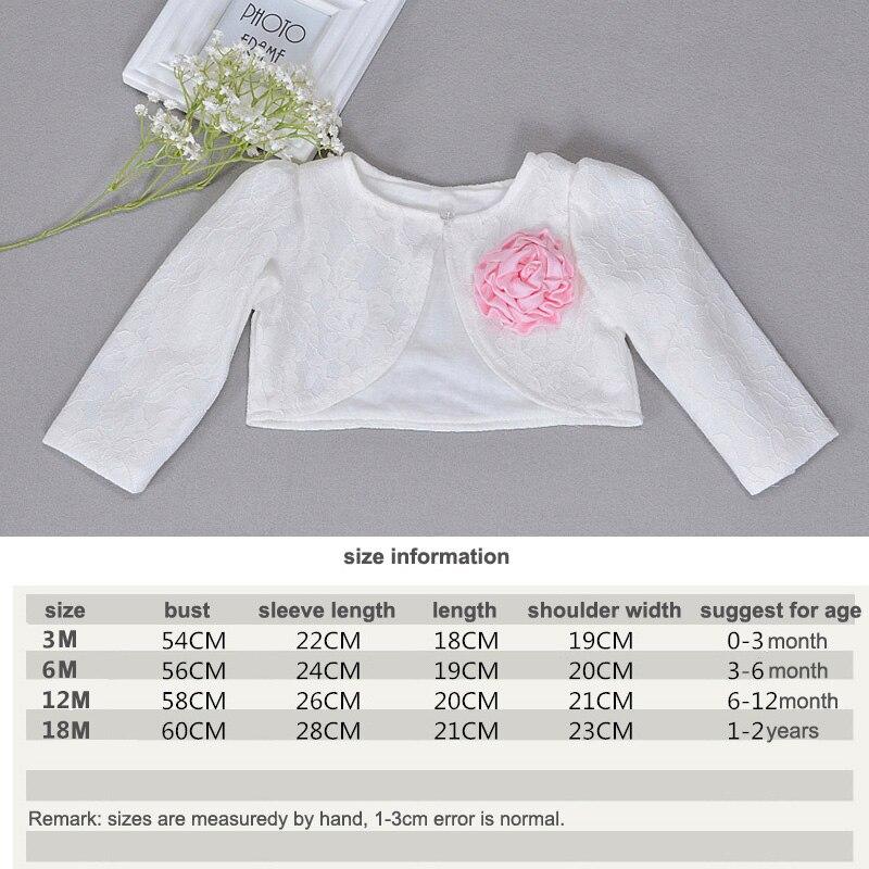466466f244e7 Baby Girl Clothing Lace Coat Princess Shrug Short Cardigan Infant ...
