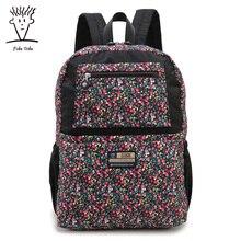 Fido Dido Оксфорд женщины рюкзак модные камуфляж печати рюкзаки для девочек Школьный рюкзак для ноутбука женская сумка Kanken!