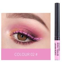 US $0.58 25% OFF|HANDAIYAN 12 Colors Waterproof Liquid Eyeliner Makeup Black White Pink Color Glitter Eye Liner maquiagem China Makeup TSLM2-in Eyeliner from Beauty & Health on Aliexpress.com | Alibaba Group