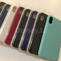 Vorson Original Silicon Case For Apple Iphone X Case Iphone 8 Cover Best Quality With Retail