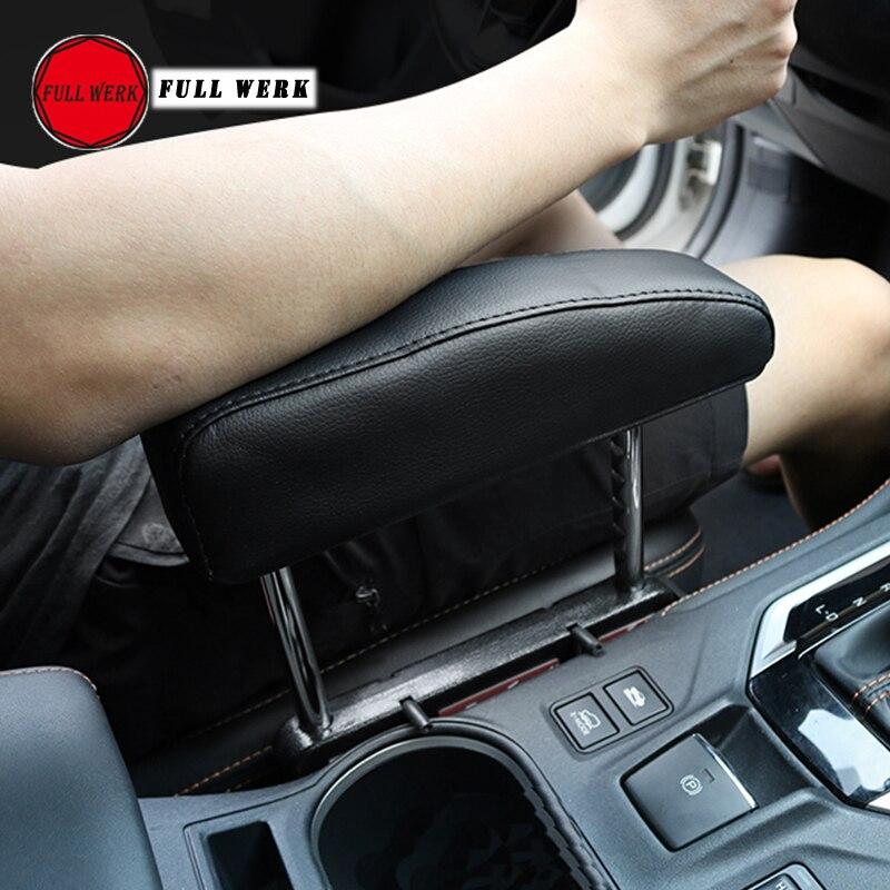 Réglable De Voiture Center Console Accoudoir Boîte Coude Soutien Pad Support pour Subaru XV 2018 Forestier 2019 Outback 2015-2018