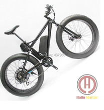 26inch New 48v lithium battery 1000w mountain eBike Beach Cruiser Electric Bicycle-powered electric bicycle  snow