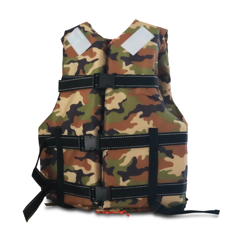 Professional Man Life Jacket Buoyancy Swimming Boating Safety Women Survival Rescue Life Vest With Whistle Safety For Kids Adult