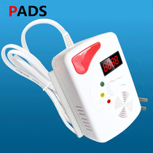 Flammable Gas detector Wireless Digital LED Display Combustible Gas Detector Smart Network Alarm For Home Alarm System