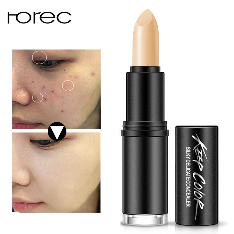 ROREC Facial Concealer For Women Makeup Long-lasting Concealers Cream Pen Foundation Base Face Make Up Concealer Stick Cosmetics(China)