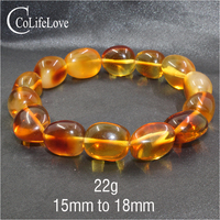 CoLife Jewelry classic amber beads bracelet for party 100% real natural amber bracelet