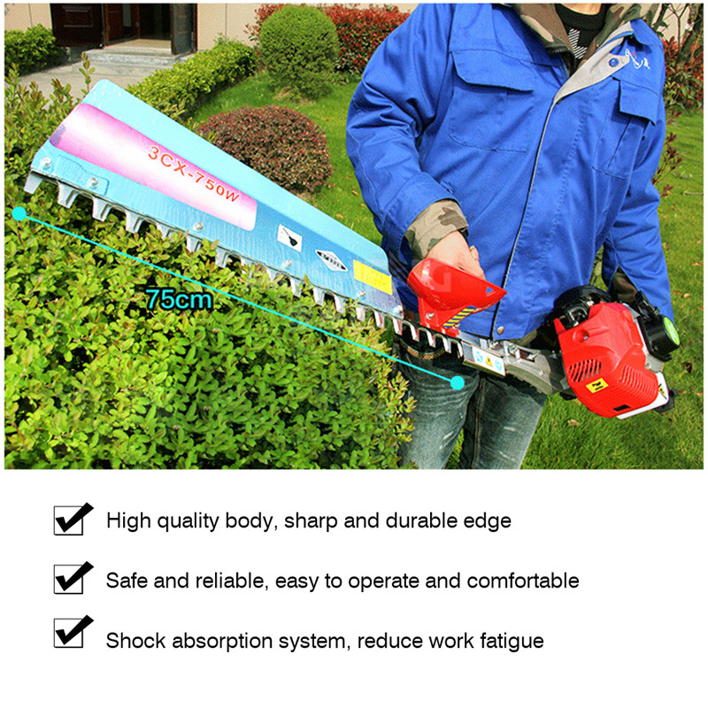 Freeshipping Two strokes Hedge Trimmer Grass Cutter Pruning Tools Electric Trimmer Pruning Saw Greenworks Garden Tool (9)