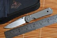 KEVIN JOHN small sebenza 21 folding knife S35VN blade TC4 Titanium handle fruit paring Utility General Kitchen knife EDC tools