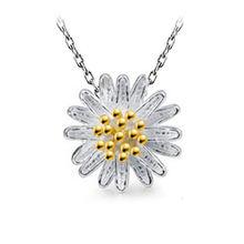 Оптовая продажа посеребренные модные ожерелья с кулоном в виде