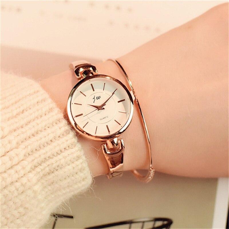 2019 New Luxury Casual Brand Ultra Light Stainless Steel Jewelry Alloy Shine Quartz Watch Women Wristwatch Bracelet For Gift