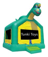 commercial inflatable dinosaur jumping bouncer