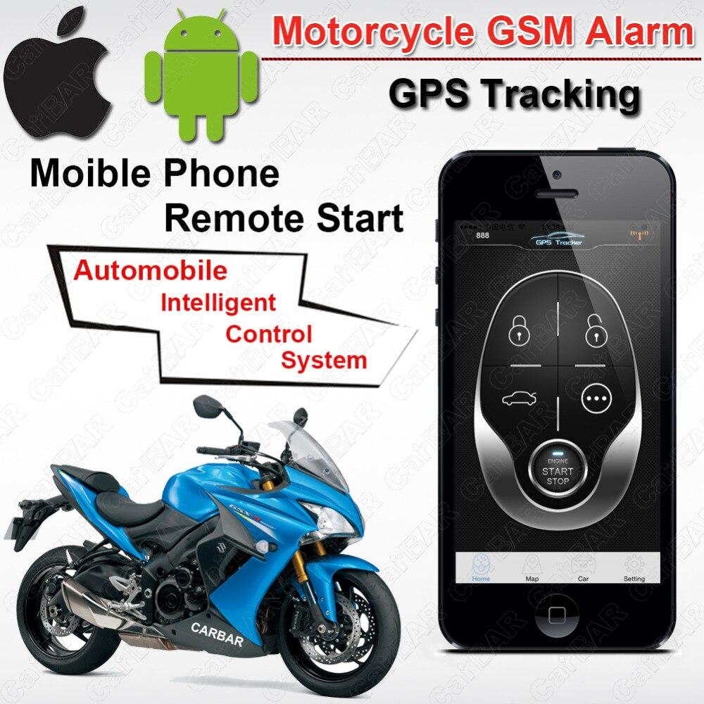 IOS Android водостойкий двигатель мотоцикла GSM gps слежения сигнализация Автозапуск системы забор Overspeed SMS шок ACC ТРИГГЕРНАЯ сигнализация