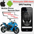 IOS Android Waterdichte Motorcycle Motor GSM GPS Tracking Alarm Keyless Systeem Fence Overspeed SMS Shock ACC trigger Alarm