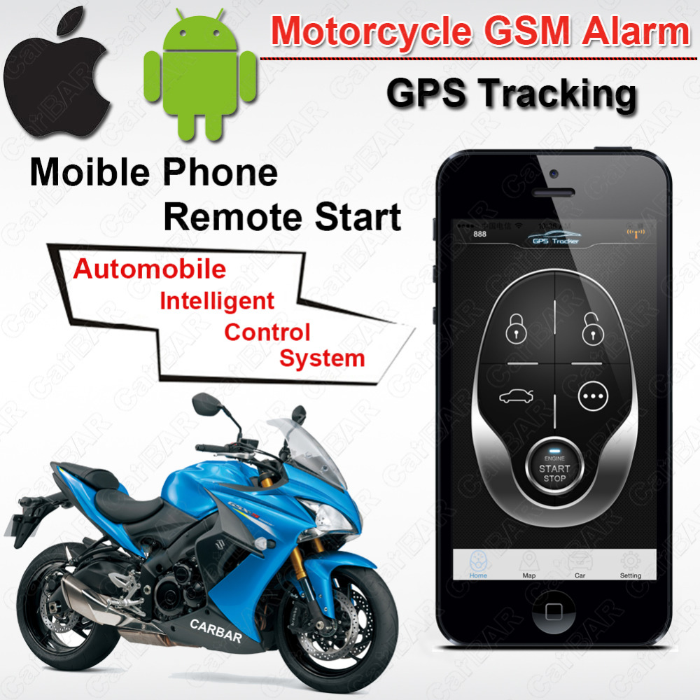 Automobiles & Motorcycles Alarm Systems & Security Ios Android Waterproof Motorcycle Motor Gsm Gps Tracking Alarm Keyless Entry System Fence Overspeed Sms Shock Acc Trigger Alarm