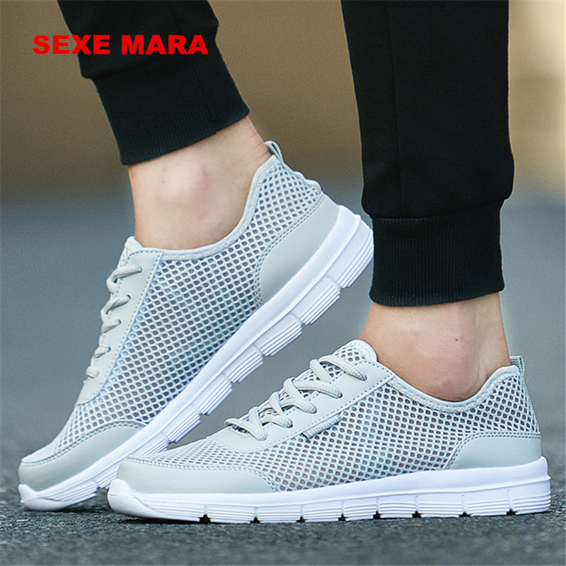 2019 size 35-46 Sandals Summer Sport shoes men light Running Shoes Women Sneakers men Outdoor lace-up High Quality Jogging shoes