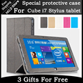 High-quality original protective sleeve For Cube i7 stylus 10.6 inch win8 tablet PC Flip Leather Case Cover for Cube i7 stylus