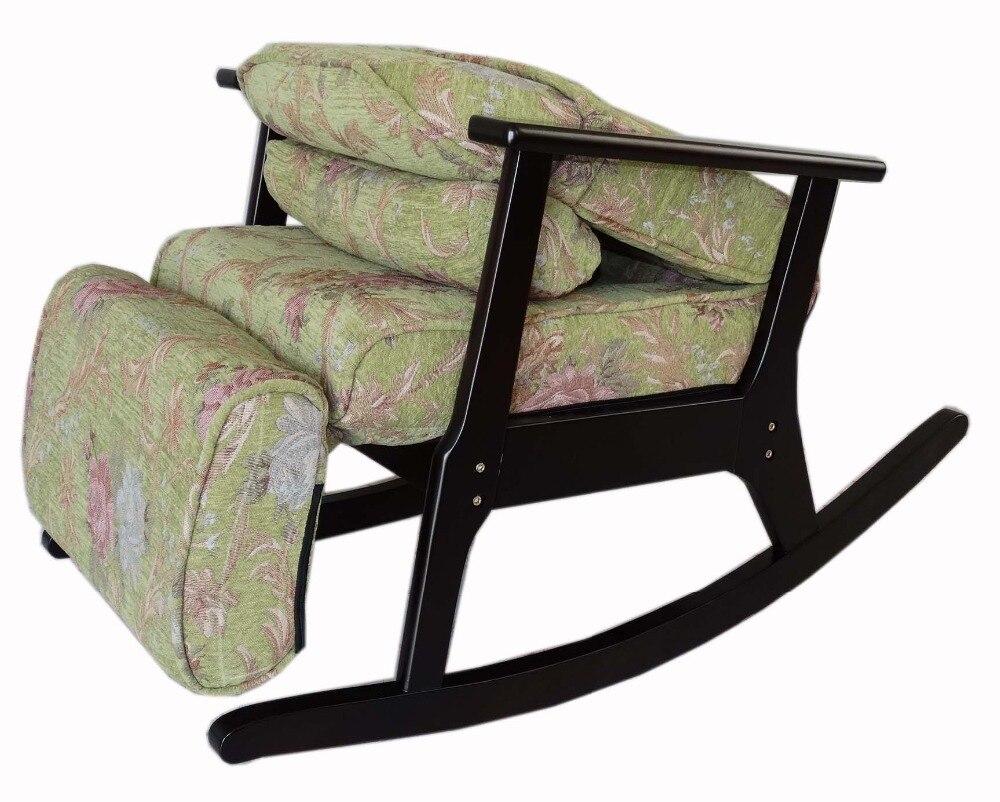 Legno a dondolo reclinabile per le persone anziane stile