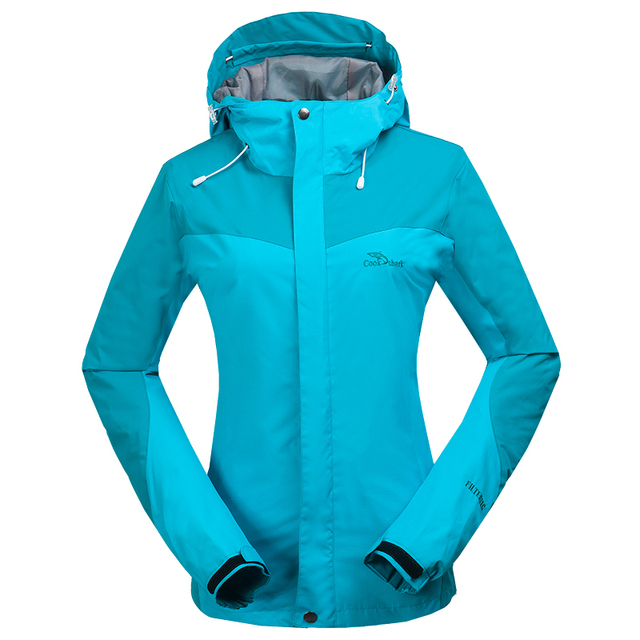Dropshipping hot sale Female Waterproof Jacket Windbreaker Warm ...