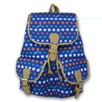 Smart Handmade Vintage Rucksack Printing Canvas Women Backpack Girls School Shoulder Hand Bag Mochila Feminina Sac a Dos