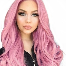 Element 26 Inch Long Synthetic Wig Fashion DIY Natural Wave Wigs for Women Middle Part Heat Resistant Cosplay Wig 5 Colors graceful shaggy long heat resistant synthetic wave capless middle part universal wig for women