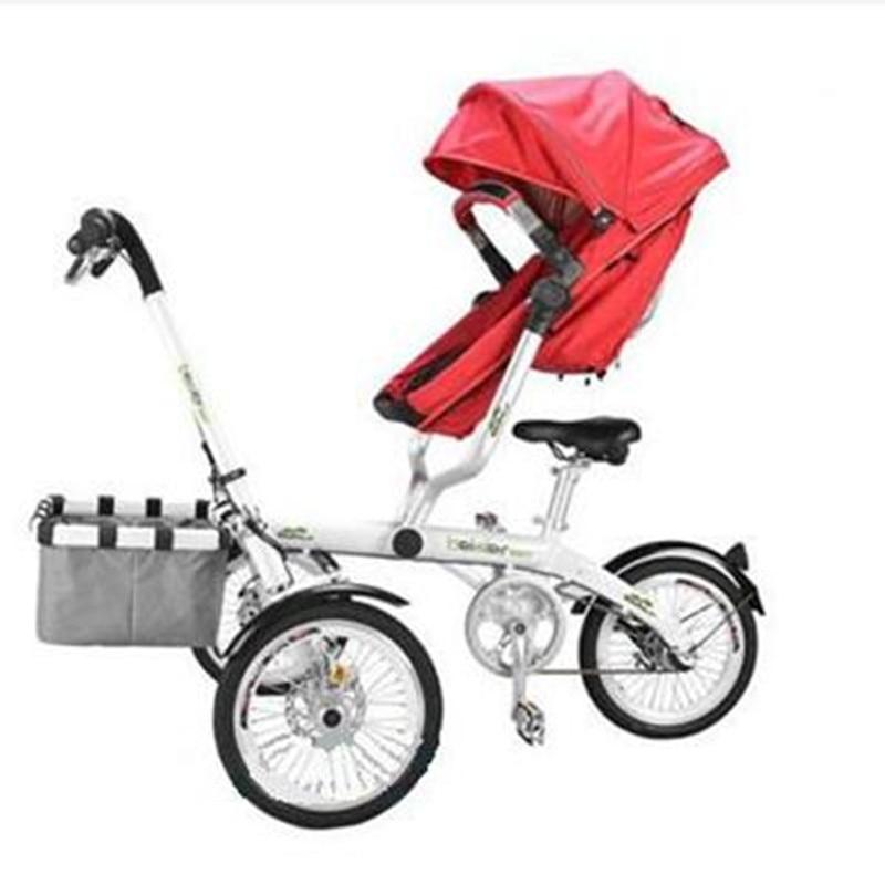 Για το Ta Ga Baby Mother Bike καροτσάκι - Παιδική δραστηριότητα και εξοπλισμός - Φωτογραφία 4