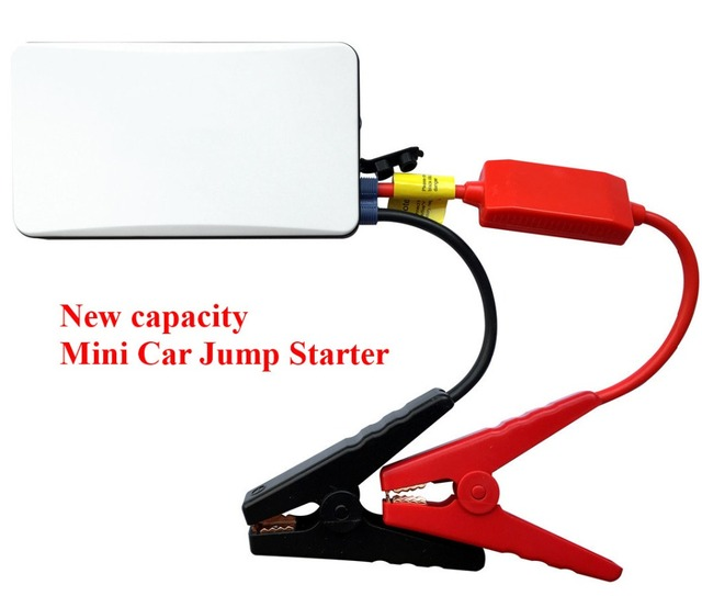 Mini Professional 8000mAh 12V Car Jump Starter 300A Peak Car Charger Multi-Function Mobile Power Bank SOS Lights Free Ship