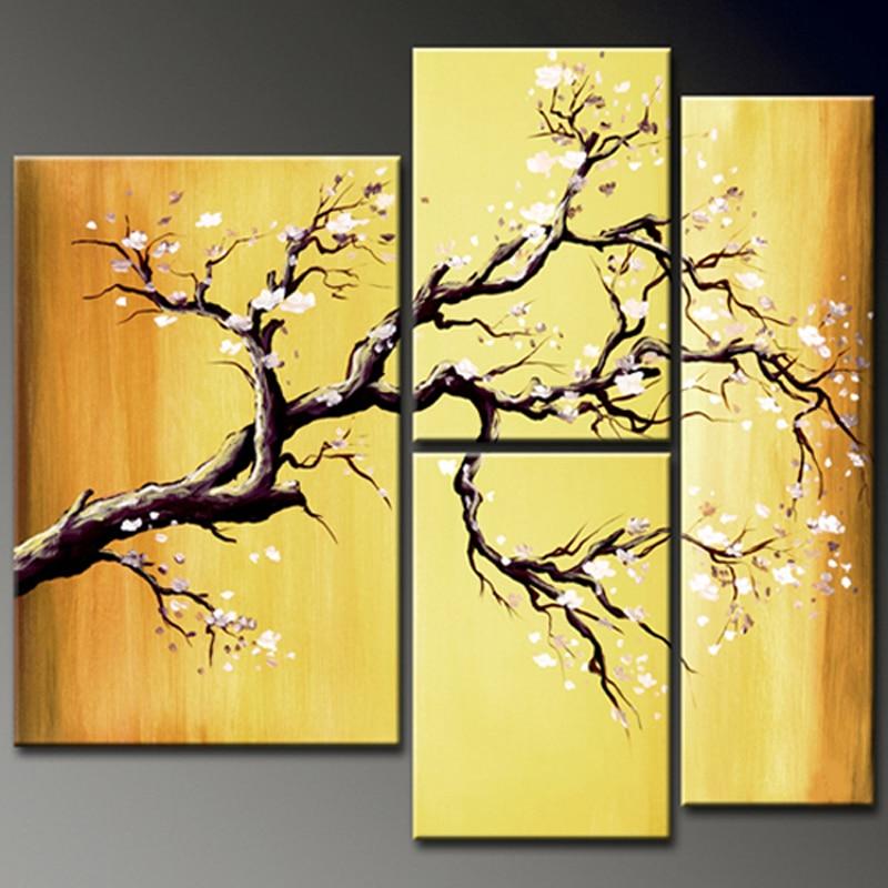 Artiste chinois peint à la main de haute qualité moderne abstraite peinture à l'huile sur toile abstraite image à l'huile pour décoration murale fleurs