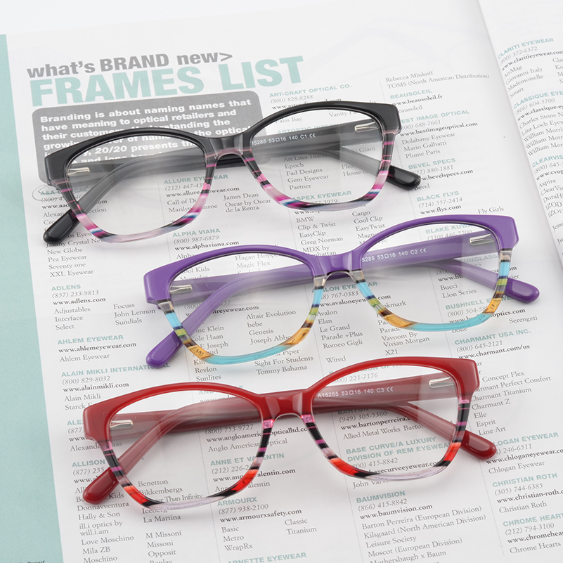 Kirka Red Eyeglasses Frame Women Glasses Reading Glasses Female Computer Eyewear oculos de grau Glasses Frame