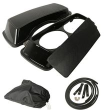 купить Motorcycle Dual 6x9 Speaker Lids For Harley Touring Saddlebag Road King Street Glide 93-13 94 95 96 97 98 99 00 01 02 03 04 05 онлайн