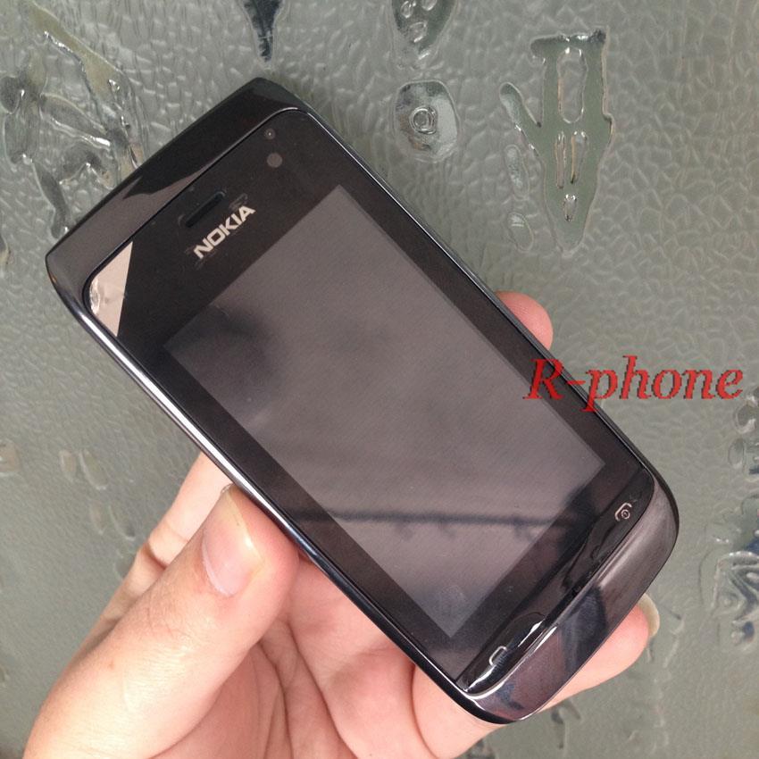 Refurbished Original Nokia Asha 308 Mobile Phone Dual SIM GSM Unlocked Cellphone