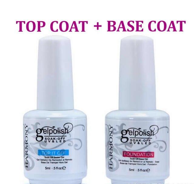BASE TOP COAT 2017 New 5ML Adia Nail Art Soak Off Color UV matte Foundation Gel Polish Primer Sapphire Bonder intense seal