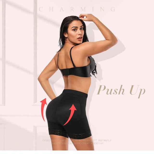 Women's Seamless Butt and Hip Enhancer Panties