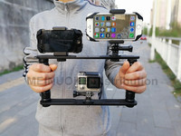 Handheld Video Stabilizer Gimbal Handle Steadicam Rig For Gopro Hero5 4 3 3 Session SJCAM XIAO