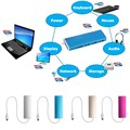 USB 3.1 Type C Multiple 4 Port Hub With Alloy Shell For PC Laptop & Macbook