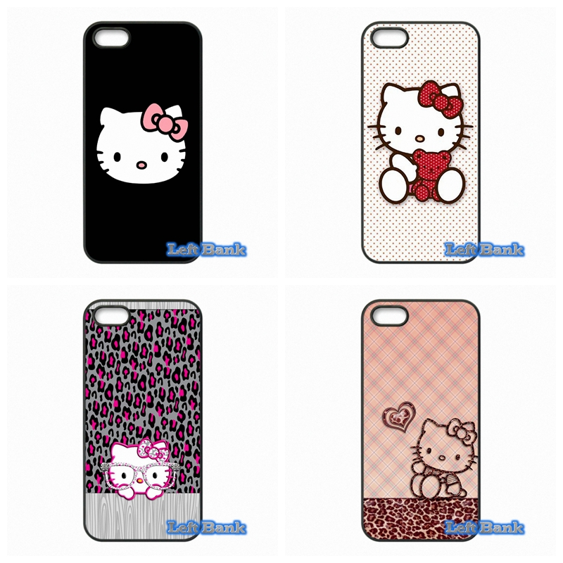 For Samsung Galaxy Note 2 3 4 5 7 S S2 S3 S4 S5 MINI S6 S7 edge Cute Hello Kitty Minnie Cartoon Cat Case Cover